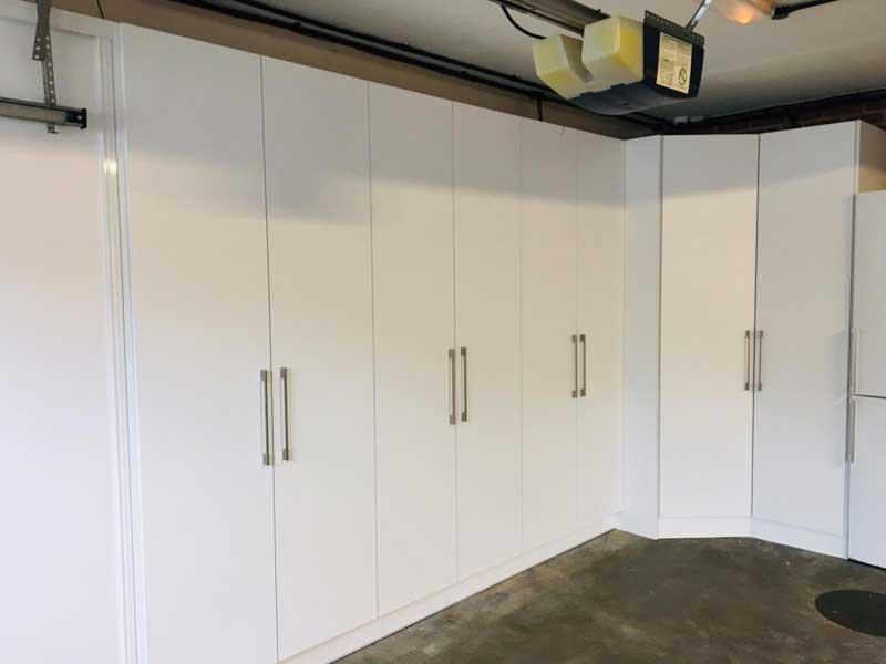 garage conversion wardrobes in london