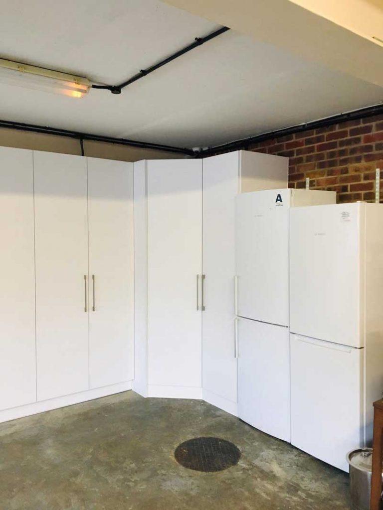 garage conversion wardrobes london